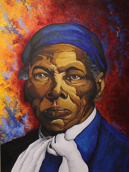 Painting - Ms. Tubman by William Roby