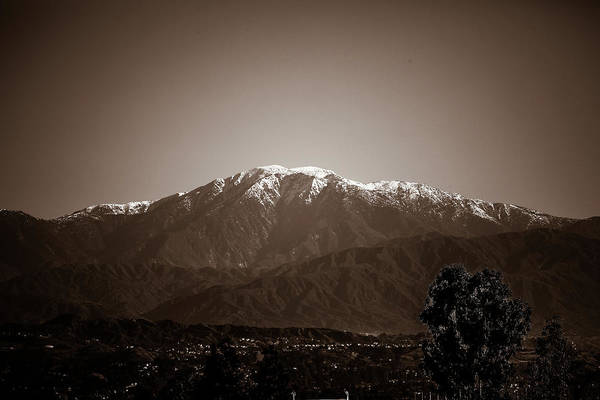 Wall Art - Photograph - Mt. Baldy In California by Hyuntae Kim