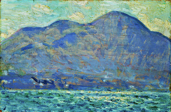 Wall Art - Painting - Mt. Beacon At Newburgh - Digital Remastered Edition by Frederick Childe Hassam