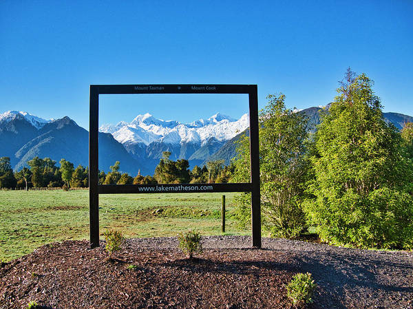 Photograph - Mt Cook And Mt Tasman - New Zealand Alps by Steven Ralser