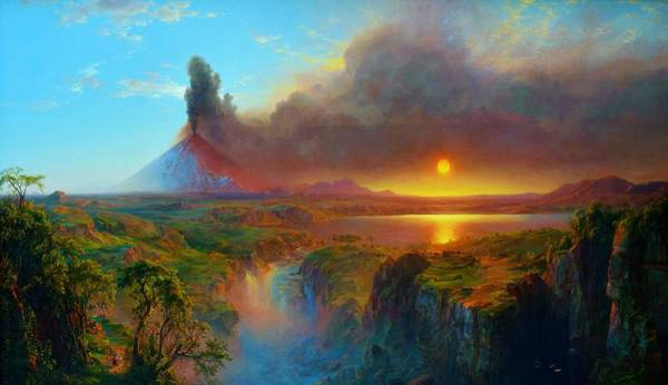 Wall Art - Painting - Mt. Cotopaksi Of Ecuador - Digital Remastered Edition by Frederic Edwin Church