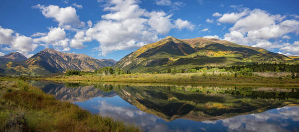 Mt. Elbert Autumn Reflection Art Print