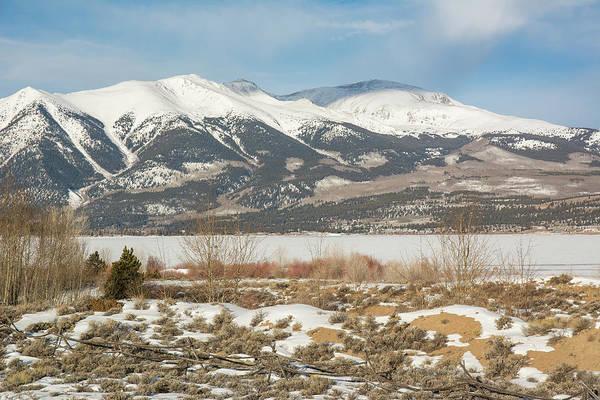 Photograph - Mt. Elbert Winter 2 by Aaron Spong