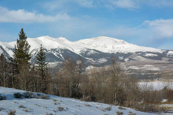 Wall Art - Photograph - Mt. Elbert Winter by Aaron Spong
