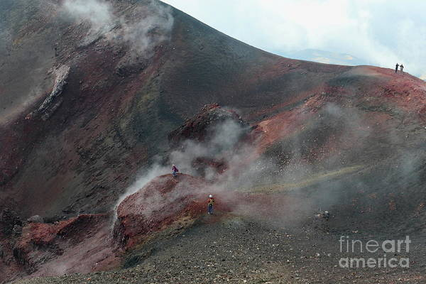Photograph - Mt Etna by Peter Skelton