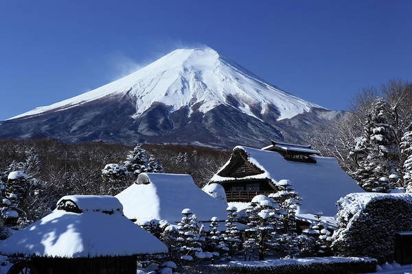 Covering Photograph - Mt. Fuji by Fuminana