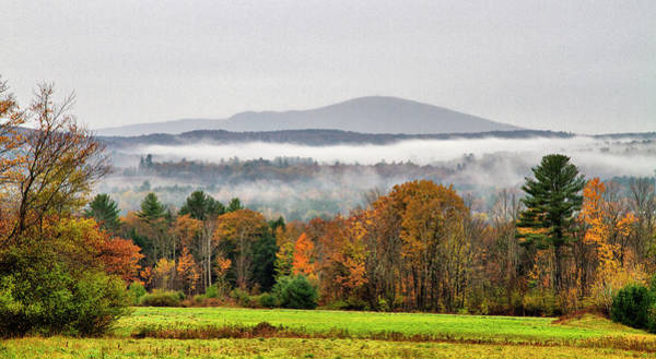 Photograph - Mt. Kearsage Foggy View by Betty Pauwels