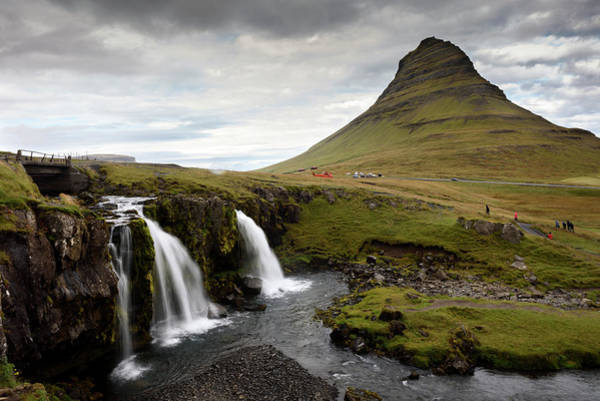 Photograph - Mt Kirkjufell And Kirkjufellsfoss In Grundarfjordur by RicardMN Photography