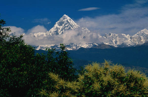 Wall Art - Photograph - Mt. Machupuchare In The Annapurnas by Lonely Planet