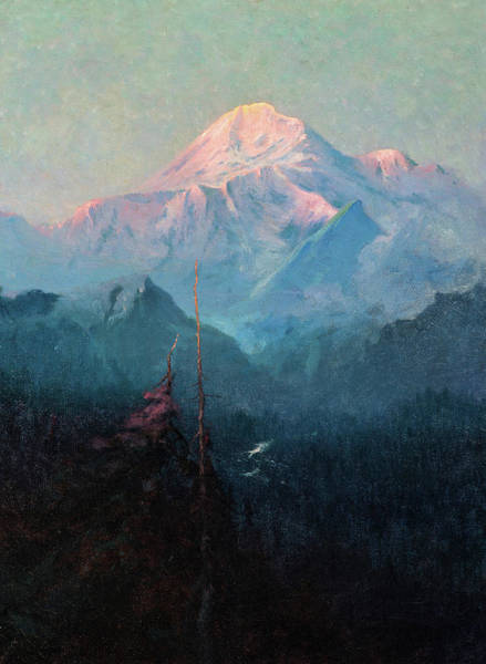 Wall Art - Painting - Mt. Mckinley, 1927 by Sydney Laurence