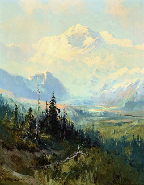 Wall Art - Painting - Mt. Mckinley, 1928 by Sydney Laurence