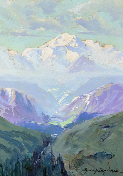 Wall Art - Painting - Mt. Mckinley, Alaska, 1935  by Sydney Laurence