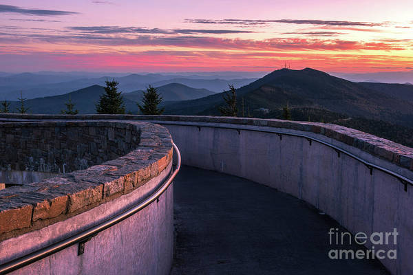 Wall Art - Photograph - Mt Mitchell Dusk by Anthony Heflin