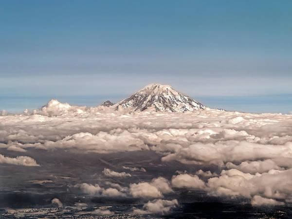 Mt Rainier Seattle Wa Art Print