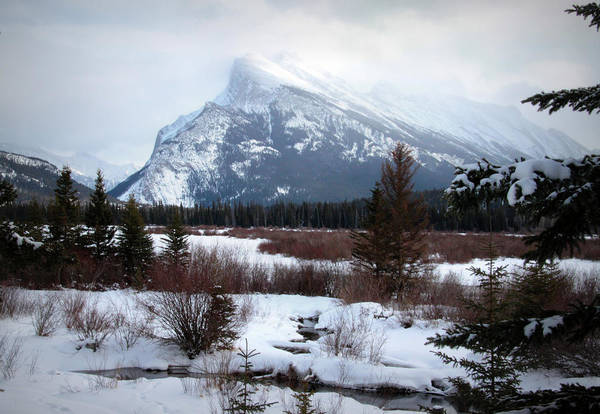 Vermillion Lakes Wall Art - Photograph - Mt. Rundle, Banff, Alberta by Cynthia Russell Photography