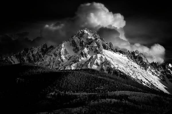 Photograph - Mt Sneffels Drama by Angela Moyer