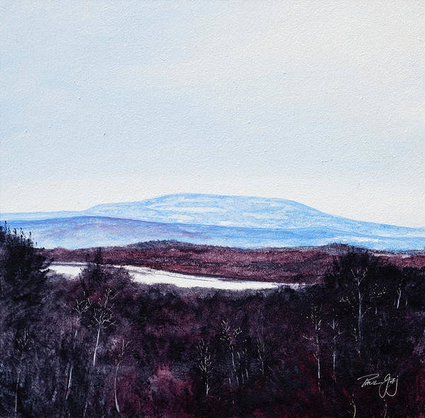 Painting - Mt. Wachusett by Paul Gaj