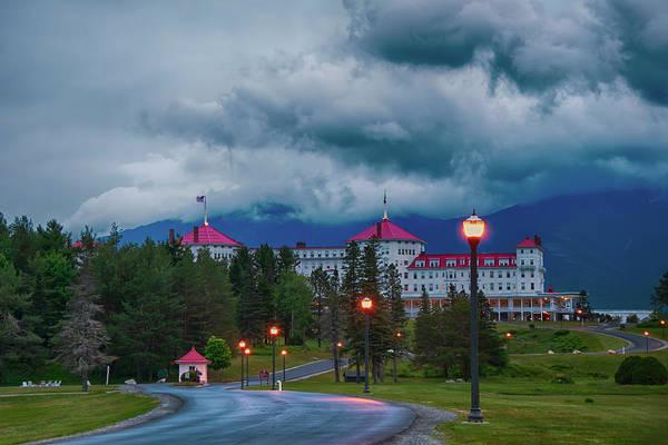 Photograph - Mt. Washington Hotel Bretton Woods, Nh by Joann Vitali