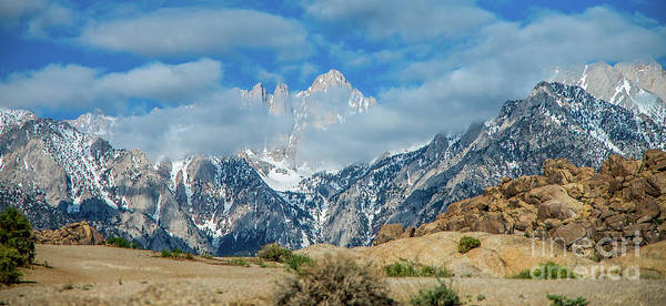 Wall Art - Photograph - Mt. Whitney Panorama by Stephen Whalen