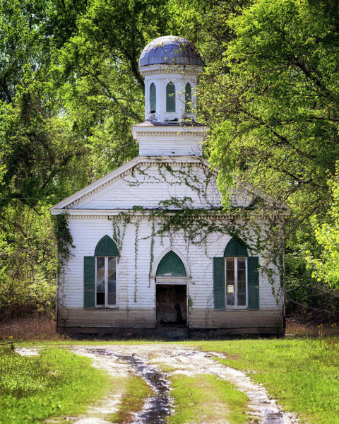 Photograph - Mt Zion Baptist Church by Susan Rissi Tregoning