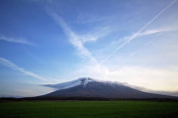 Scenery Photograph - Mt.iwate In Spring by Jasohill Photography