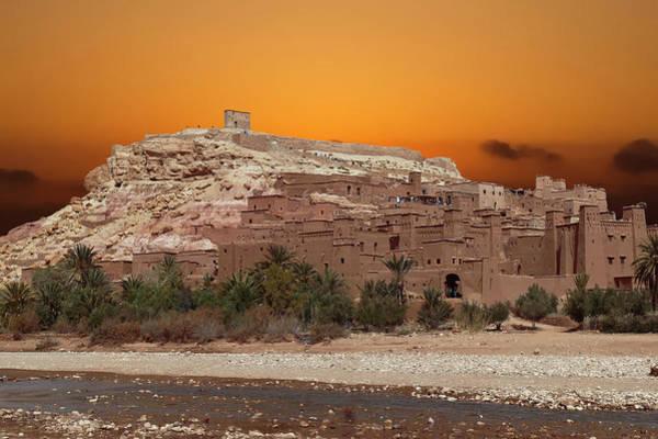 Mud Brick Buildings Of The Ait Ben Haddou Art Print