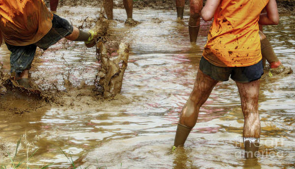Wall Art - Photograph - Mud In Which Men Are Churned by Steven Digman
