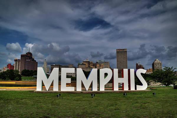 Photograph - Mud Island Memphis Monument 001 by Lance Vaughn