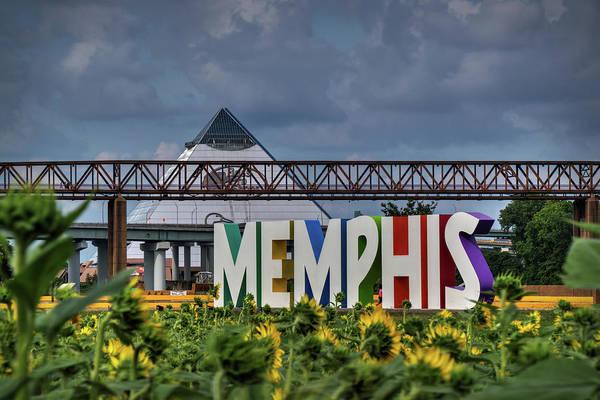 Photograph - Mud Island Memphis Monument 002 by Lance Vaughn