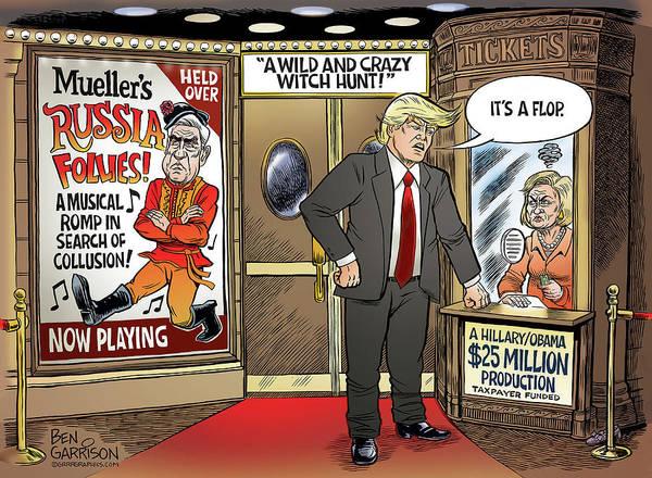 Drawing - Mueller's Russian Follies by GrrrGraphics ART