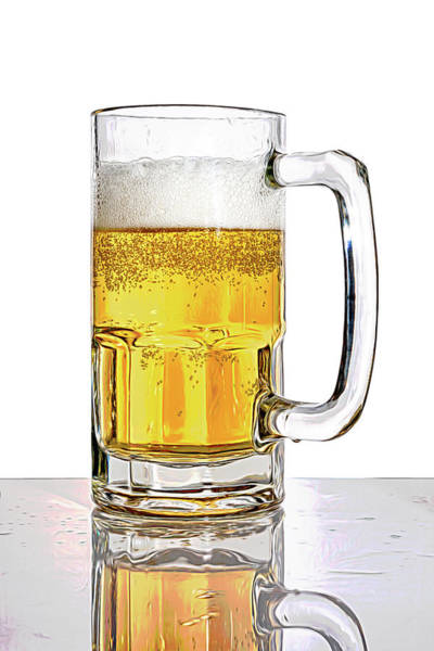 Wall Art - Photograph - Mug Of Beer by Tom Mc Nemar