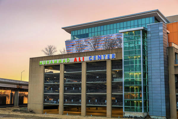 Wall Art - Photograph - Muhammad Ali Center Louisville by Dan Sproul