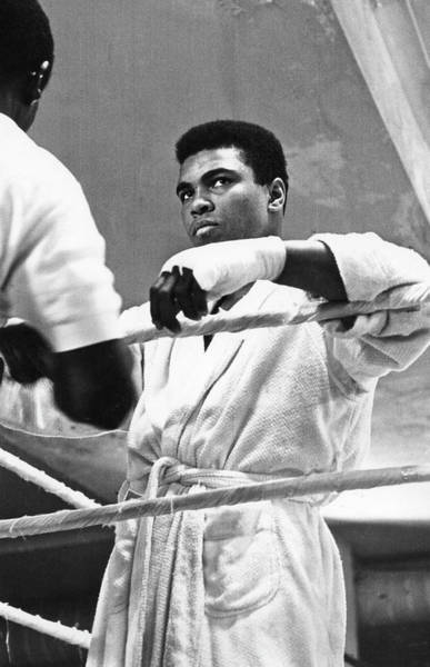 Wall Art - Photograph - Muhammad Ali In Training by Fred W. McDarrah