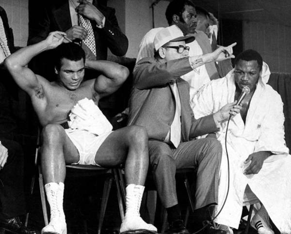 Muhammad Ali Photograph - Muhammad Ali Primps For The Camera by New York Daily News Archive