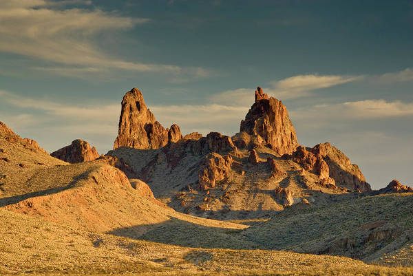 Chihuahua Photograph - Mule Ears Peaks At Sunset, Chihuahuan by Witold Skrypczak