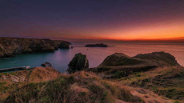 Photograph - Mullion Cove - Sunset 2 by Eddy Kinol