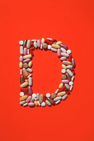 Vitamin Photograph - Multi-vitamin Pills And Capsules by Nicholas Eveleigh