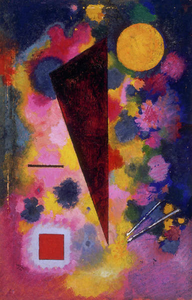 Resonance Wall Art - Painting - Multicolored Resonance by Wassily Kandinsky