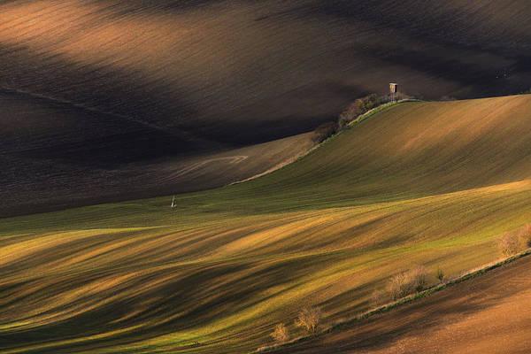 Photograph - Multicolored Rural Spring Landscape by Vlad Sokolovsky