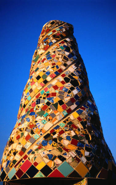 Customer Photograph - Multicoloured Chimney Pots, Built by Damien Simonis