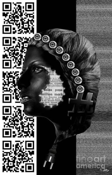 Wall Art - Digital Art - Multimedia by Mo T