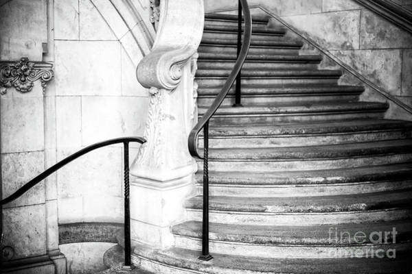 Photograph - Munchen Stairs Germany by John Rizzuto