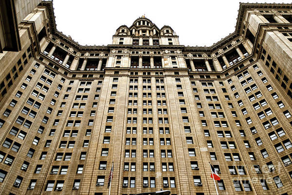 Photograph - Municipal Building Glory In New York City by John Rizzuto