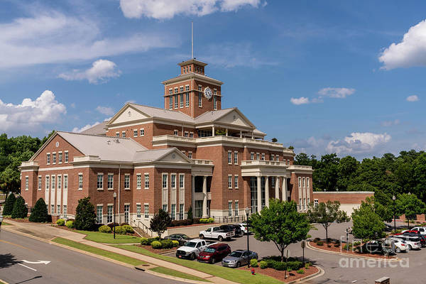 Photograph - Municipal Building - North Augusta Sc by Sanjeev Singhal