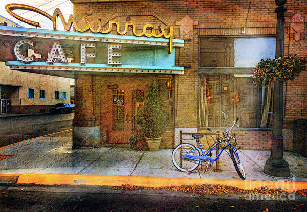 Photograph - Murray Cafe Bicycle by Craig J Satterlee