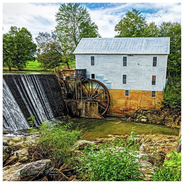 Wall Art - Photograph - Murray's Mill by George Moore