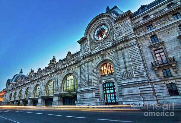 Wall Art - Photograph - Musee D'orsay At Night by Delphimages Photo Creations