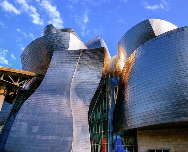 Guggenheim Wall Art - Photograph - Museo Guggenheim, Bilbao by 0049-1215-16-2610334597