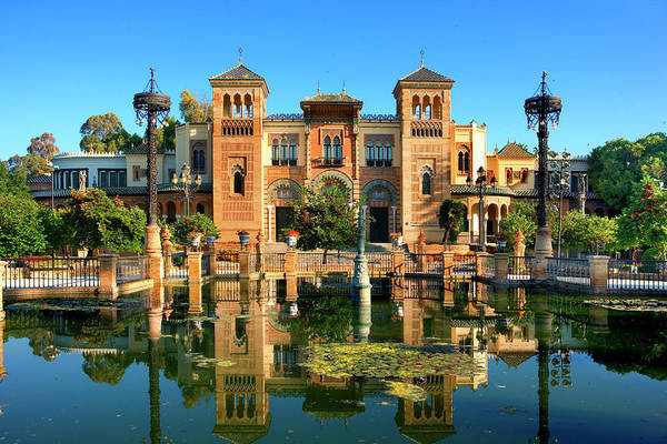 Public Land Photograph - Museum In Sevilla by Visions Of Our Land