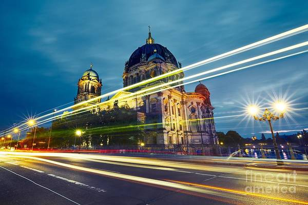 Wall Art - Photograph - Museum Island With Berlin Cathedral - by Jaromir Chalabala